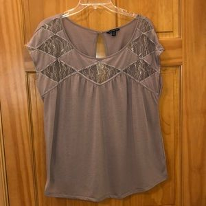 Tops - American Eagle t-shirt with lace inset